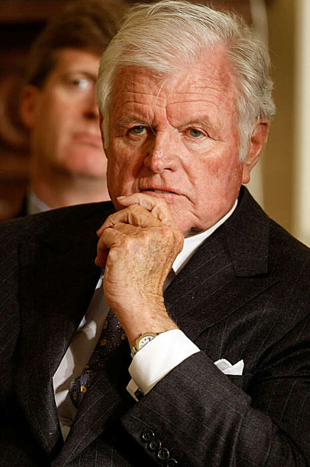 WASHINGTON - MARCH 5: (FILE PHOTO) Sen. Ted Kennedy (D-MA) listens carefully during the closing session of the White House's forum on health care reform in the East Room of the White House March 5, 2009 in Washington, DC. It was reported that Sen. Edward Kennedy has died at the age of 77 on August 26, 2009.   (Photo by Chip Somodevilla/Getty Images) Photo: Chip Somodevilla, Getty Images
