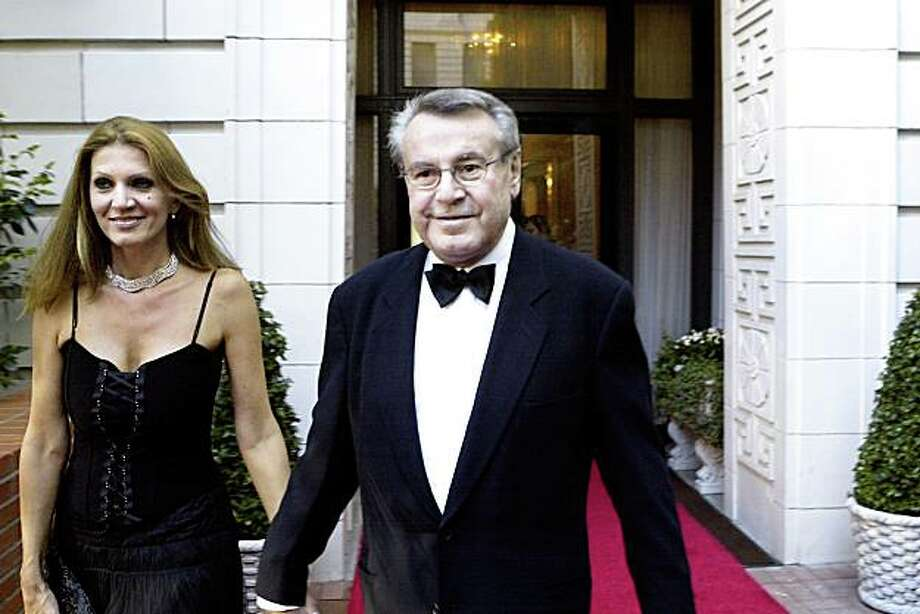 Director Milos Forman with his wife, Martina, at the San Francisco International Film Festival in 2004 Photo: Darryl Bush, The Chronicle