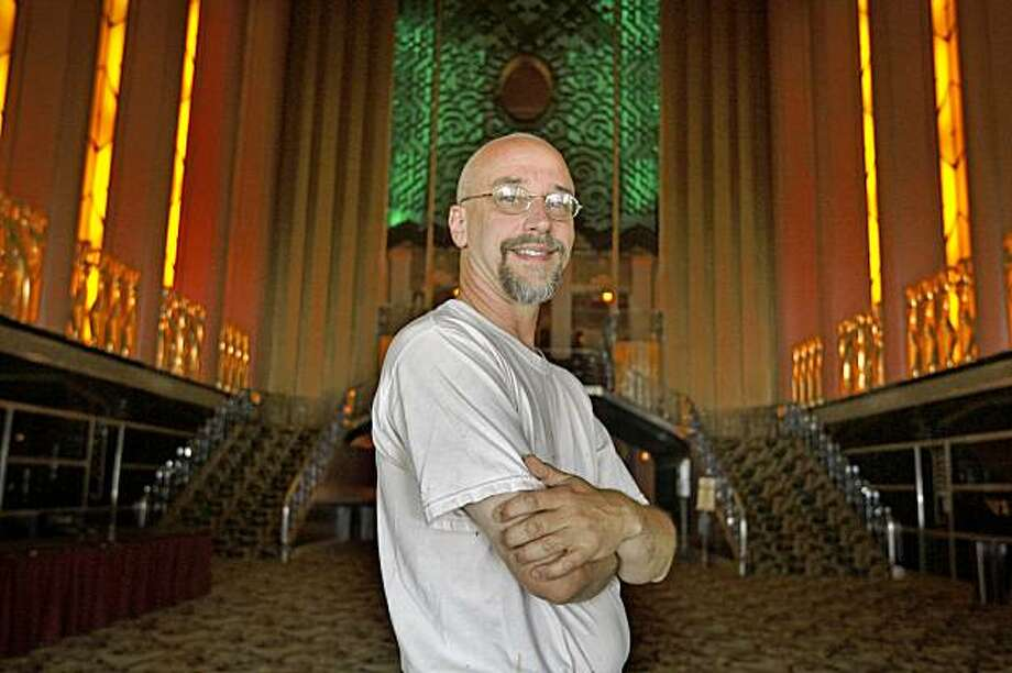 David Boysel is a theater restoration expert. where he supervised the restoration of the Castro Theater in 2001 and is responsible for ongoing work at the Oakland Paramount in Oakland, Calif.,, on August 18, 2009. Photo: Frederic Larson, The Chronicle