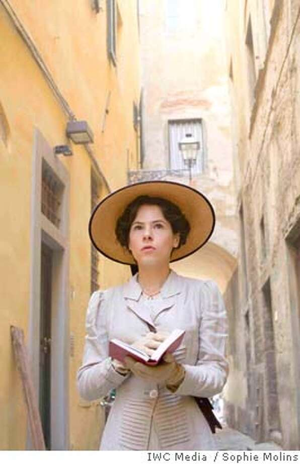 MASTERPIECE� A Room With a View  Sunday, April 13, 2008, 9:00 pm - 10:30 pm ET A young Englishwoman falls in love but doesn�t realize it in Andrew Davies� new adaptation of E.M. Forster�s gently satirical romance set in Italy and England in the early 20th century. Shown: Elaine Cassidy as Lucy Honeychurch.  Credit: �Sophie Molins/IWC Media for MASTERPIECE  Presenter: WGBH Boston  Contact: Ellen Dockser, WGBH, 617/300-5338  MASTERPIECE CLASSIC: A Room With A View  Sunday, April 13, 2008 at 9pm ET on PBS  A young Englishwoman falls in love but doesn�t realize it, in Andrew Davies' new adaptation of E. M. Forster�s gently satirical romance set in Italy and England in the early twentieth century. Shown: Elaine Cassidy as Lucy Honeychurch. Photo: �Sophie Molins/IWC Media For MAS