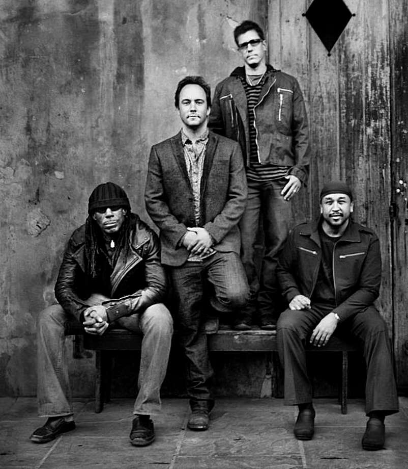 """Dave Matthews Band return after the death of saxophonist LeRoi Moore with an emotional new album, """"Big Whiskey and the Groogrux King."""" Photo: RCA"""