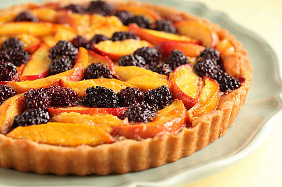 Fruit Tart in San Francisco, Calif., on August 12, 2009. Food styled by Rachael Daylong. Photo: Craig Lee, The Chronicle