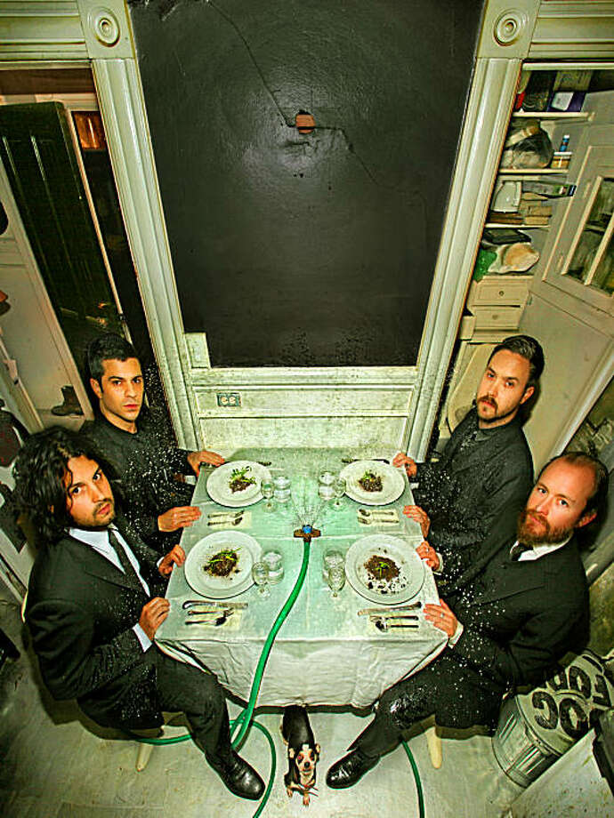 """Dredg, originally from Los Gatos, celebrates its fourth album, """"The Pariah, the Parrot, the Delusion,"""" with a Wednesday show at the Fillmore in San Francisco. Photo: Merkley"""