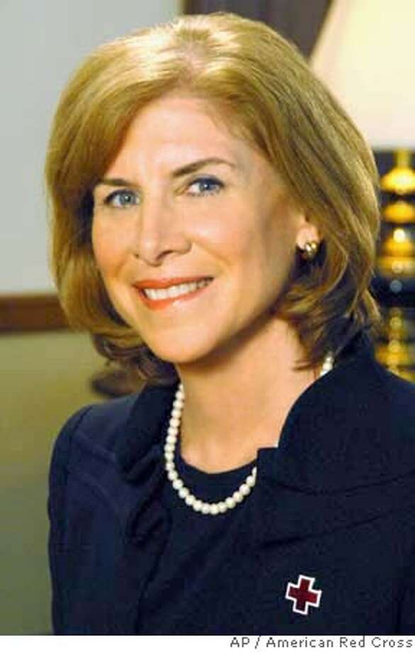 ###Live Caption:Gail J. McGovern is seen in this photo made available by the American Red Cross Tuesday, April 8, 2008. The American Red named McGovern, a veteran executive who teaches at Harvard Business School, as its new president Tuesday, April 8, 2008.(AP Photo/ The American Red Cross)###Caption History:Gail J. McGovern is seen in this photo made available by the American Red Cross Tuesday, April 8, 2008. The American Red named McGovern, a veteran executive who teaches at Harvard Business School, as its new president Tuesday, April 8, 2008.(AP Photo/ The American Red Cross)###Notes:Gail J. McGovern###Special Instructions:PHOTO MADE AVAILABLE BY THE AMERICAN RED CROSS TUESDAY, APRIL 8, 2008. NO SALES AP provides access to this publicly distributed HANDOUT photo to be used only to illustrate news reporting or commentary on the facts or events depicted in this image. Photo: American Red Cross