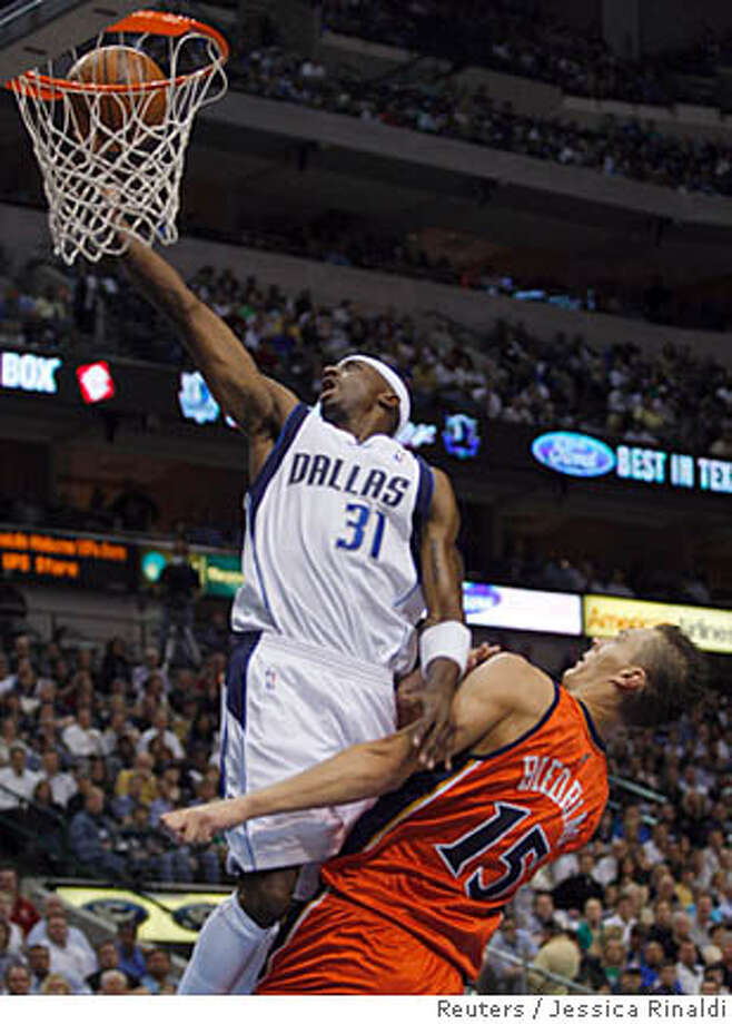 ###Live Caption:Dallas Mavericks Jason Terry (L) shoots past Golden State Warriors Andris Biedrins in first half NBA basketball action in Dallas, Texas April 2, 2008. REUTERS/Jessica Rinaldi (UNITED STATES)###Caption History:Dallas Mavericks Jason Terry (L) shoots past Golden State Warriors Andris Biedrins in first half NBA basketball action in Dallas, Texas April 2, 2008. REUTERS/Jessica Rinaldi (UNITED STATES)###Notes:Mavericks Terry shoots past Warriors Biedrins in first half NBA basketball action in Dallas###Special Instructions:0 Photo: JESSICA RINALDI