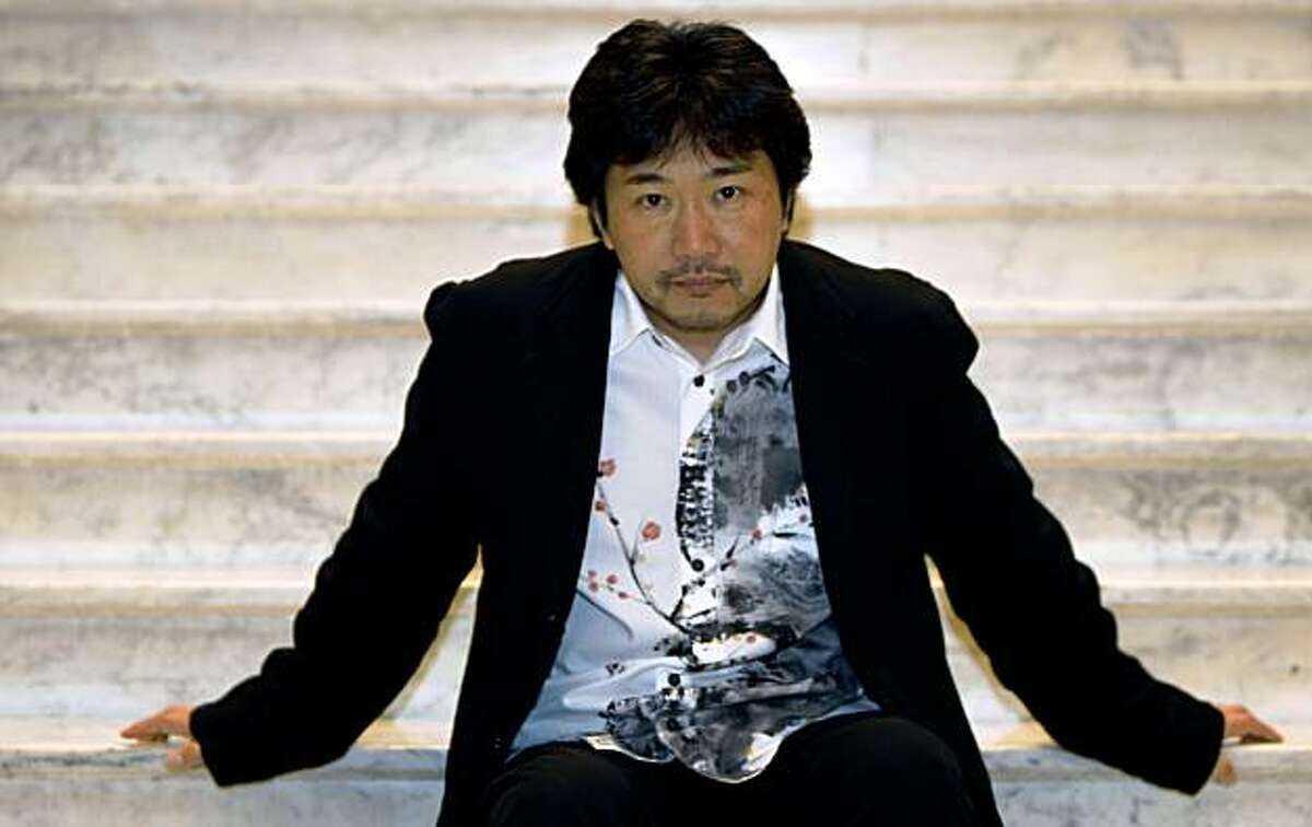 Director Hirokazu Kore-eda is in the city to attend the San Francisco International Film Festival. Saturday May 2, 2009.