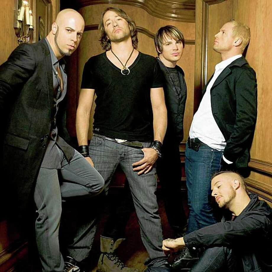 "American Idol finalist Chris Daughtry returns with his band's second major label release, ""Leave This Town"" Photo: RCA"