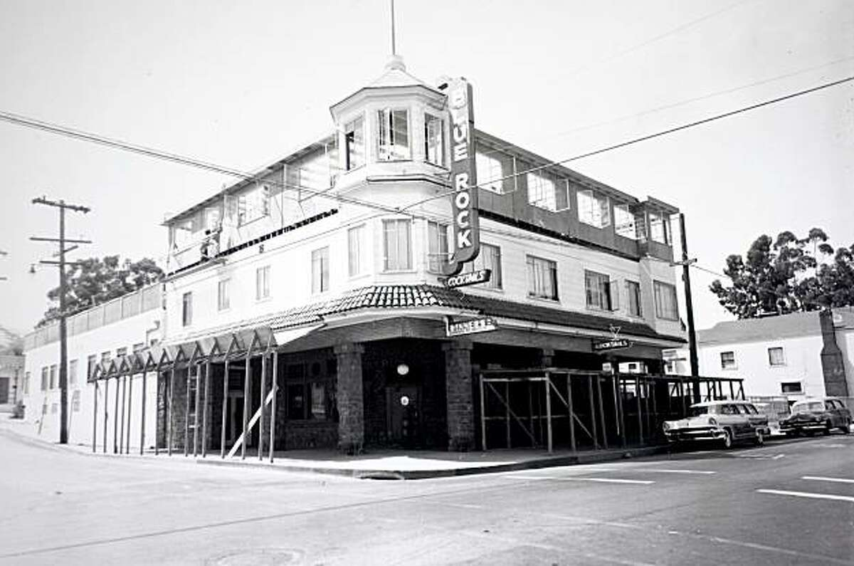 The Blue Rock Inn in Larkspur, Calif. photographed during renovations at the inn in 1959. The building still stands at 507 Magnolia Ave. in Larkspur, Calif.