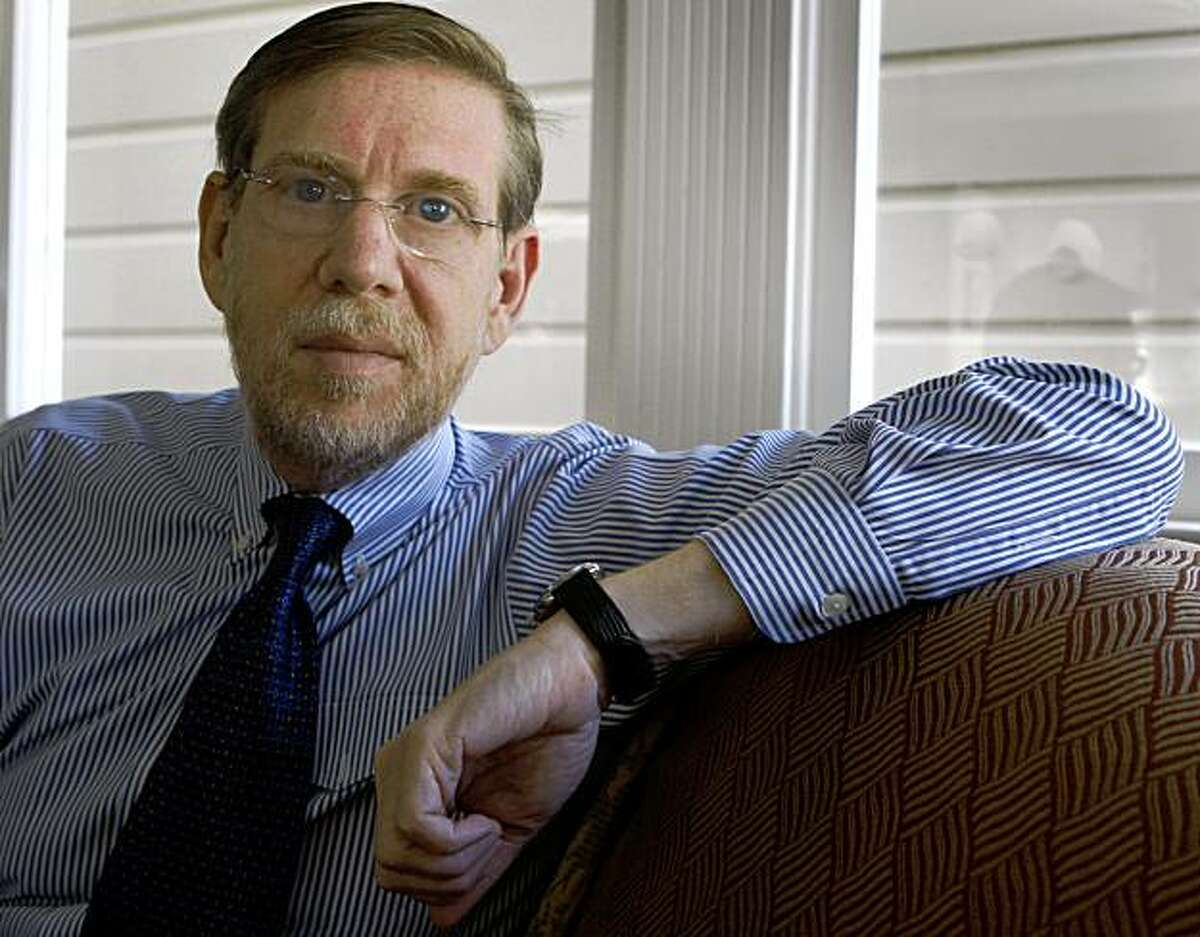 """Dr. David Kessler, former head of the Food and Drug Administration, is seen at his home in San Francisco, Calif., on Saturday, Aug. 15, 2009. Kessler recently published a book on overeating titled, """"The End of Overeating""""."""