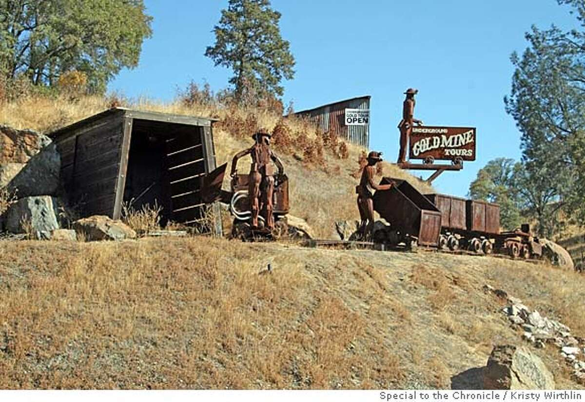 ###Live Caption:These metal miner sculptures mark the entrance to Sutter Gold Mine off Highway 49 in Amador County.###Caption History:These metal miner sculptures mark the entrance to Sutter Gold Mine off Highway 49 in Amador County.###Notes:ONE-TIME USE ONLY IN PRINT; OK TO USE ON SFGATE IF IN PRINT!###Special Instructions:ONE-TIME USE ONLY IN PRINT; OK TO USE ON SFGATE IF IN PRINT!