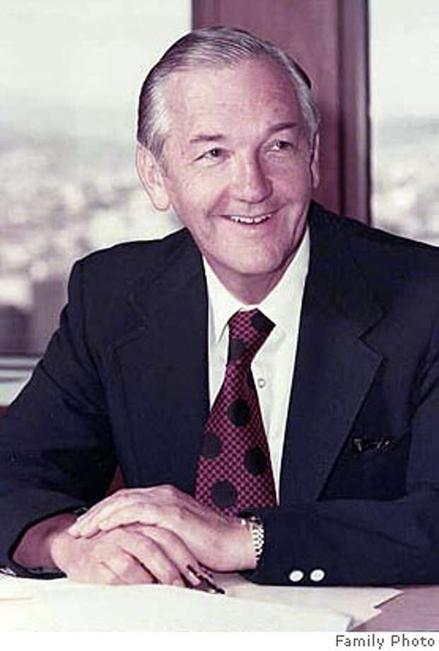Porter Thompson, former president of Bechtel Corp., has died. Photo: Family Photo