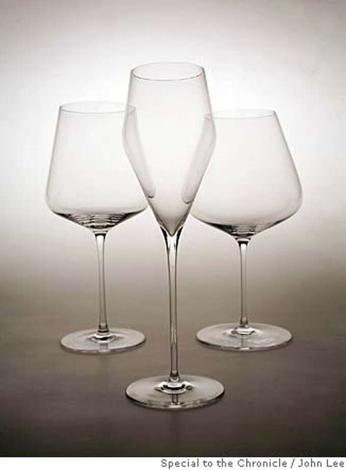 ###Live Caption:SIPPINGNEWS04_GLASSES_02_JOHNLEE.JPG  Three Zalto Denk'art wine glasses.  By JOHN LEE/SPECIAL TO THE CHRONICLE###Caption History:SIPPINGNEWS04_GLASSES_02_JOHNLEE.JPG  Three Zalto Denk'art wine glasses.  By JOHN LEE/SPECIAL TO THE CHRONICLE###Notes:###Special Instructions: Photo: John Lee