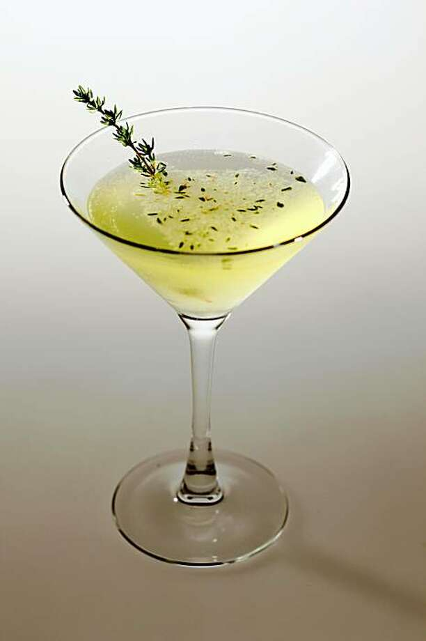 Green-Eye Daiquiri cocktail in San Francisco, Calif., on August 12, 2009. Drink styled by Cindy Lee. Photo: Craig Lee, The Chronicle