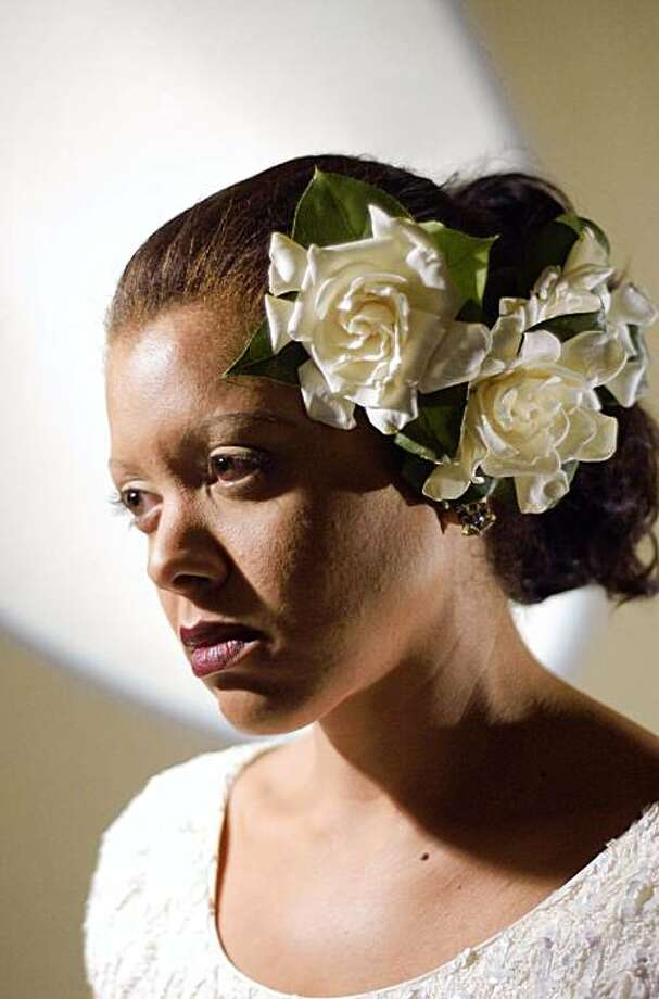 "Kim Nalley as Billie Holiday in ""The Heart of Lady Day."" Photo: Courtesy Of Kim Nalley"