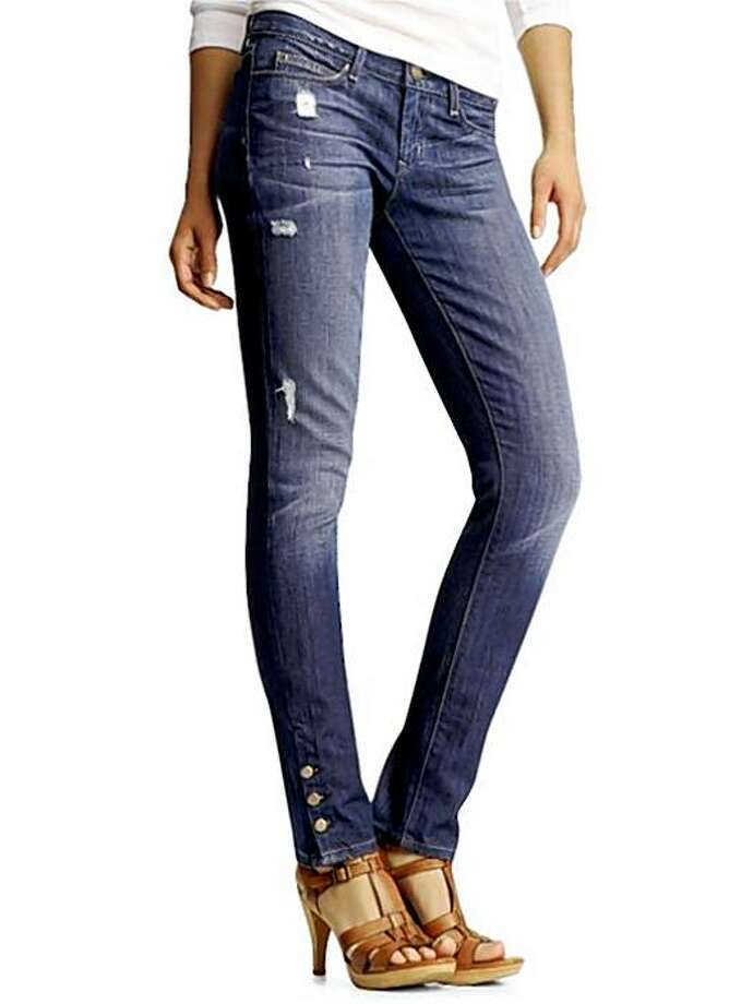 The Gap's Benson Skinny is a limited-edition offering from the 1969 premium denim line. Photo: Gap