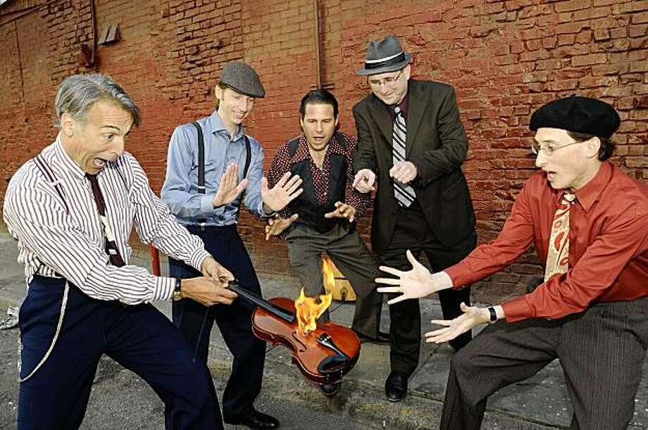 Hot Club of San Francisco will perform Aug. 27 at Kuumbwa Jazz Center in Santa Cruz Photo: Kuumbwa Jazz