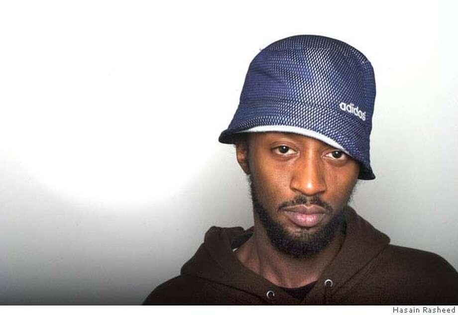 A Plus (AKA: Adam Carter). Oakland rapper. Photo: Hasain Rasheed