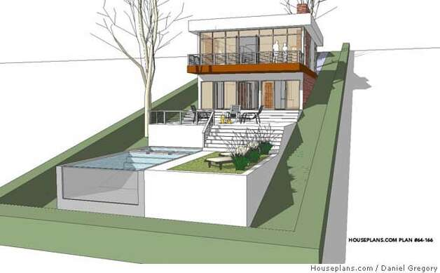 Gregory 39 S House Plans Evoke Hero Cliff May Sfgate