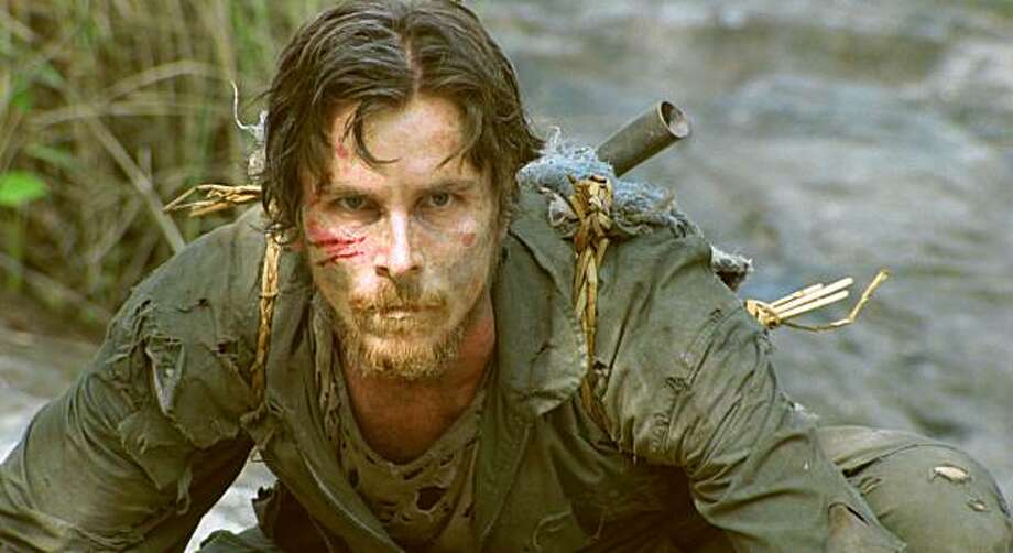 "Christian Bale in ""Rescue Dawn."" Photo: Courtesy Of Metro-Goldwyn-Mayer"