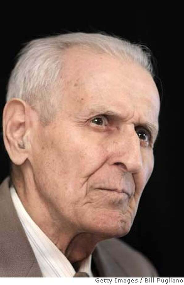 ###Live Caption:SOUTHFIELD, MI - MARCH 24: Jack Kevorkian, 79, looks on as he discusses his decision to run for Congress at a news conference March 24, 2008 in Southfield, Michigan. Kevorkian served eight years in prison after he was convicted in 1999 of second degree murder for assisting in the suicide death of a man who had Lou Gerhig's disease. (Photo by Bill Pugliano/Getty Images)###Caption History:SOUTHFIELD, MI - MARCH 24: Jack Kevorkian, 79, looks on as he discusses his decision to run for Congress at a news conference March 24, 2008 in Southfield, Michigan. Kevorkian served eight years in prison after he was convicted in 1999 of second degree murder for assisting in the suicide death of a man who had Lou Gerhig's disease. (Photo by Bill Pugliano/Getty Images)###Notes:Jack Kevorkian Announces Run For U.S. Congress###Special Instructions: Photo: Bill Pugliano