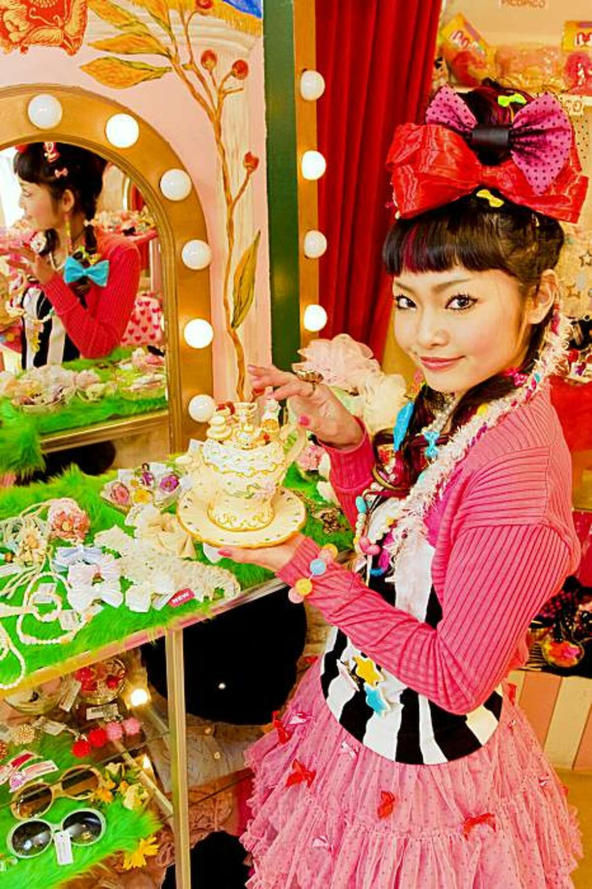 Image from Harajuku fashion label 6%DOKIDOKI, which will be part of the new New People complex in Japantown.