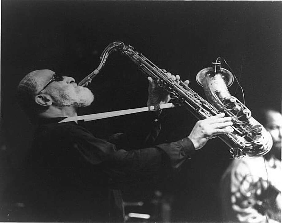 "The Jazz Heritage Center's Lush Life Gallery has a new exhibition, ""Reflections of Jazz, History and Heritage."" Among the photos featured: This one of Sonny Rollins. Photo: Jazz Heritage Center"