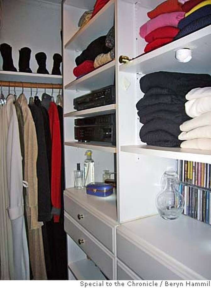 ###Live Caption:Shelves and drawers are an important part of a well-organized closet.###Caption History:Shelves and drawers are an important part of a well-organized closet.###Notes:###Special Instructions: Photo: Beryn Hammil