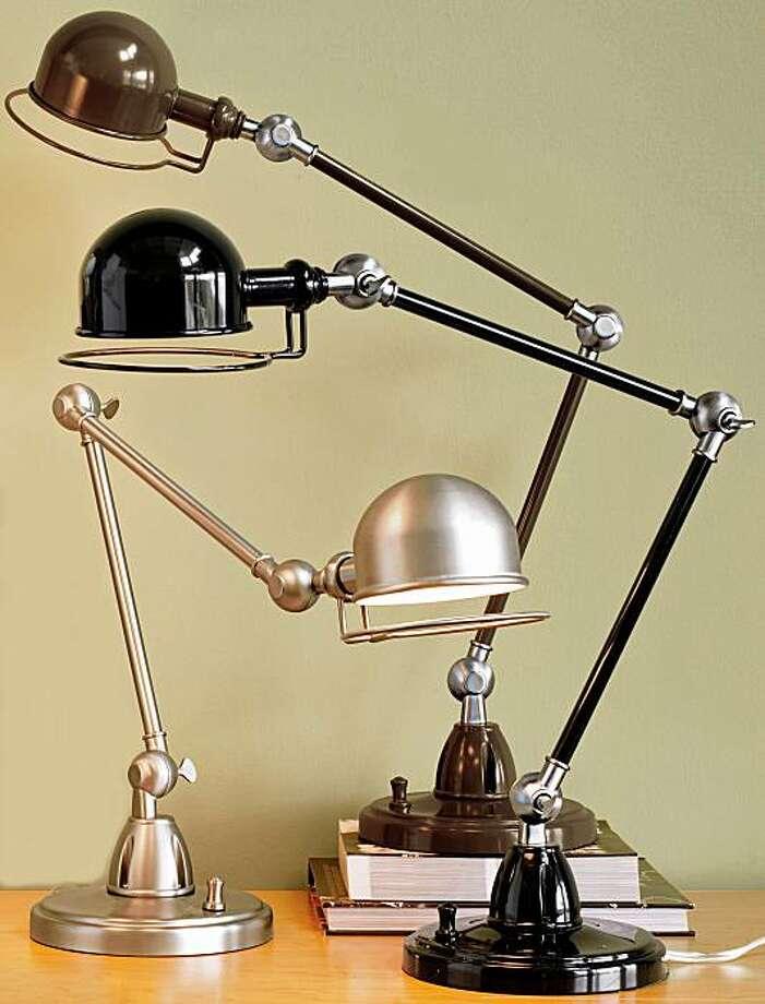 Hi-Light Task Lamp Photo: Pottery Barn