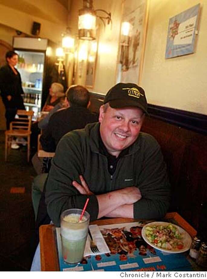###Live Caption:Chris Rossi, chef of Citron in Oakland at the Holy Land restaurant in Oakland, Calif. on March 6, 2008. Photo by Mark Costantini / San Francisco Chronicle.###Caption History:Chris Rossi, chef of Citron in Oakland at the Holy Land restaurant in Oakland, Calif. on March 6, 2008. Photo by Mark Costantini / San Francisco Chronicle.###Notes:###Special Instructions:MANDATORY CREDIT FOR PHOTOG AND SAN FRANCISCO CHRONICLE/NO SALES-MAGS OUT Photo: Mark Costantini