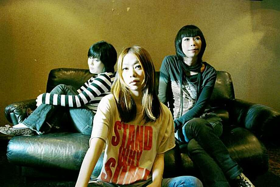 Japanese all-girl rock band Noodles will play at the Japan Nite Special: Girls Rock Explosion! as part of the first annual 2009 J-Pop Summit Festival, taking place in Peace Park in San Francisco's historic Japantown. Photo: MediaLab