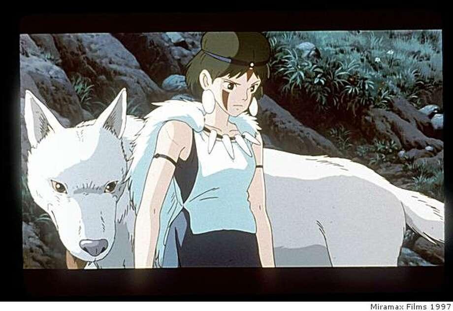 Princess Mononoke Photo: Miramax Films 1997