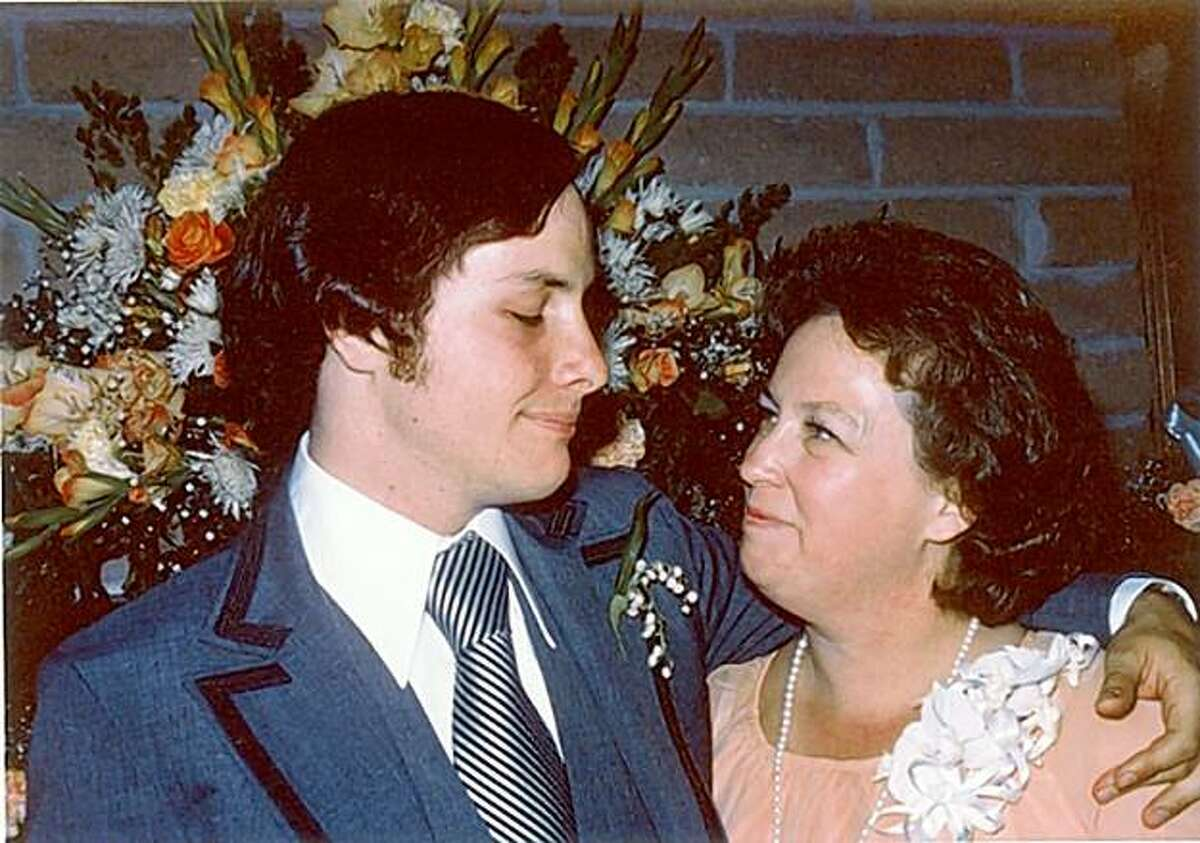 Diane Stewart, pictured here with her son Jay Stewart, died after knee replacement surgery at Stanford hospital.