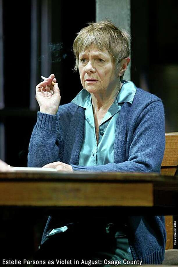 Estelle Parsons as Violet in August: Osage County August Osage County at the Music Box Theatre Photo: Joan Marcus