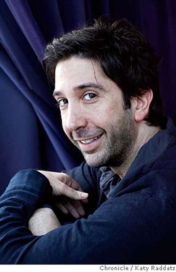 "David Schwimmer, known for his role in the TV show ""Friends,"", is in a new movie called ""Run, Fatboy, Run."" David Schwimmer is photographed Wednesday, March 5, 2008, in San Francisco, Calif. Photo by Katy Raddatz / The San Francisco Chronicle Ran on: 03-23-2008  David Schwimmer, best known for his role as Ross on the sitcom &quo;Friends,&quo; is now doing what he's always wanted to do: directing movies. Photo: KATY RADDATZ"