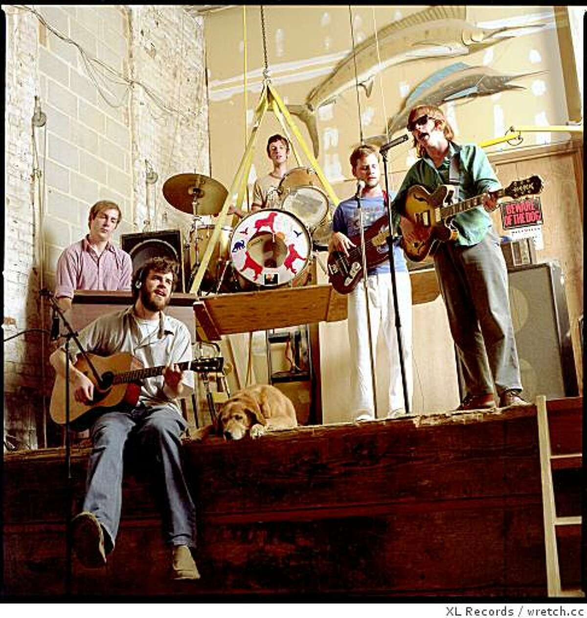 The band Vampire Weekend plays West African style jazz
