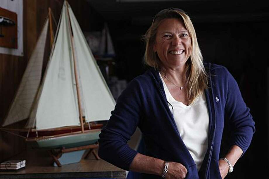 Dawn Riley, who was head of America True, the all-female yachting Team based in San Francisco for America's Cup 8 years ago stands for a portrait in her offfice on Friday July, 24, 2009 in San Francisco, Calif. Photo: Mike Kepka, The Chronicle