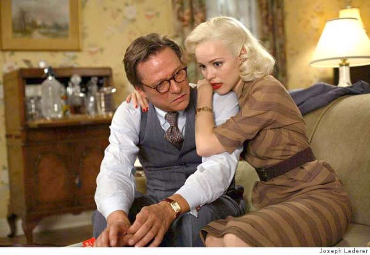 Harry (Chris Cooper (left)) is planning to murder his wife to be with his girlfriend, Kay (Rachel McAdams) in Ira Sachs' adult drama