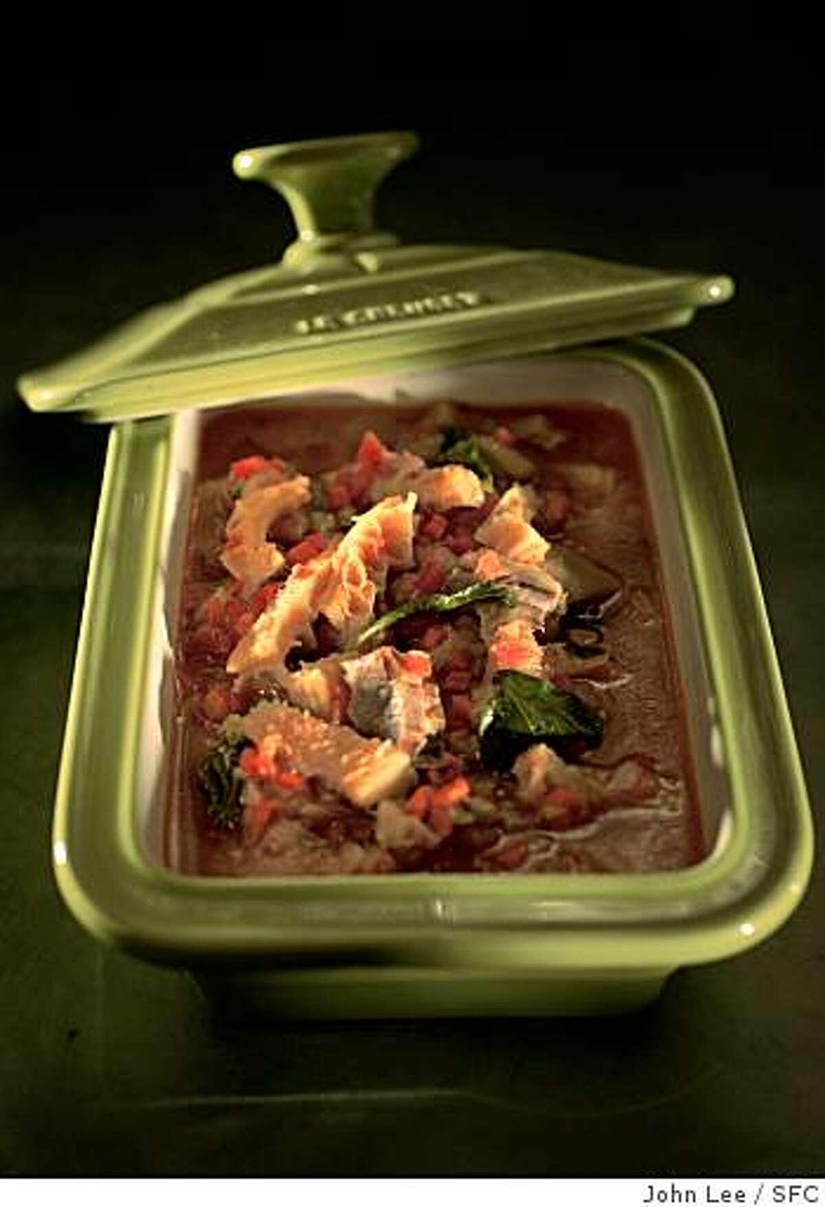 TRIPE12_03_JOHNLEE.JPG Italian tripe stew.By JOHN LEE/SPECIAL TO THE CHRONICLE