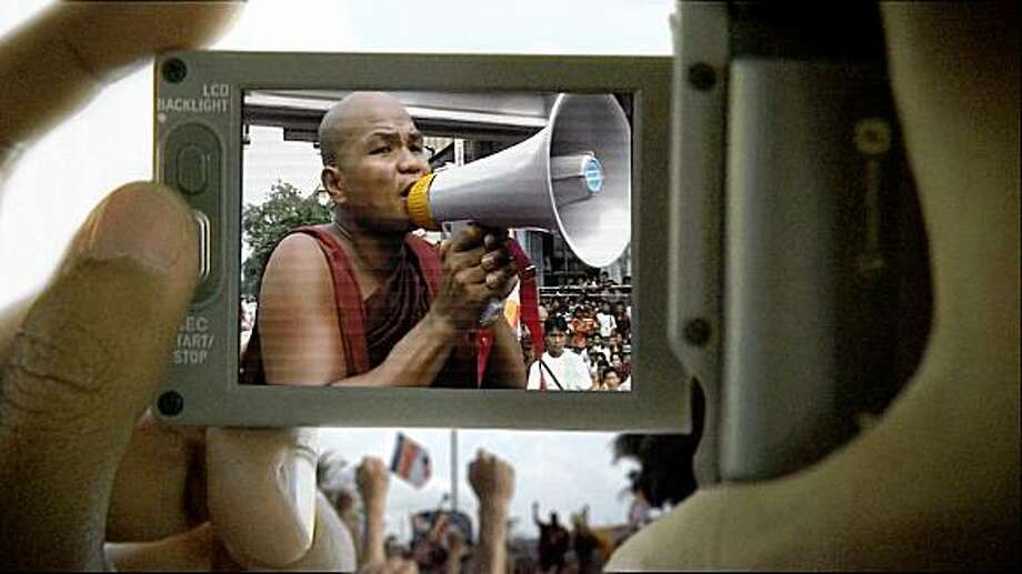"Director Anders ¯stergaard's ""Burma VJ."" Photo: Oscilloscope Laboratories"