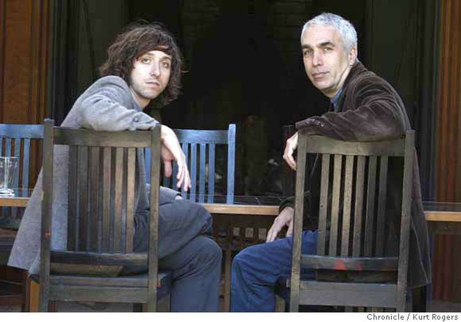 "###Live Caption:David Sheff and his son Nick Sheff have both written books about Nick's addiction to methodone. The two are going on tour together to publicize David's book, ""Beautiful Boy"" and Nick's book titled, ""Tweak."" Photo taken on Feb. 8, 2008.  Photo by Kurt Rogers / San Francisco Chronicle###Caption History:David Sheff and his son Nick Sheff have both wrote books and are going on tour together David's book ""Beautiful Boy"" is about his sons addiction to Meth at the same time his son Nick wrote ""Tweak"" about his being addicted.  Kurt Rogers / The Chronicleg###Notes:###Special Instructions:MANDATORY CREDIT FOR PHOTOG AND SAN FRANCISCO CHRONICLE/NO SALES-MAGS OUT Photo: Kurt Rogers"
