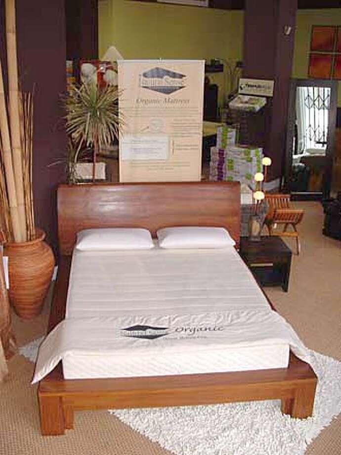 organic mattress from foamorder Photo: Handout