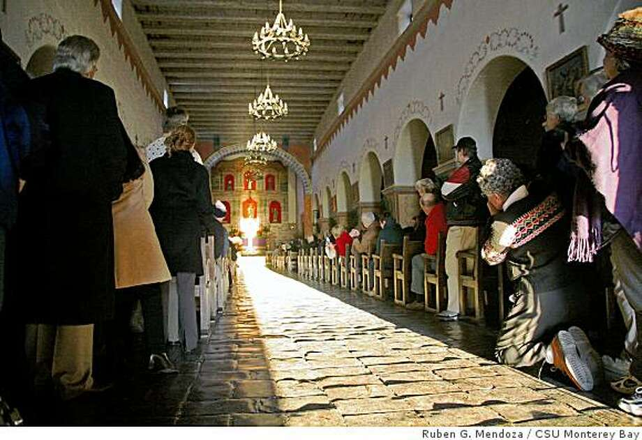 monterey mission sunrise sheds new light on the missions sfgate