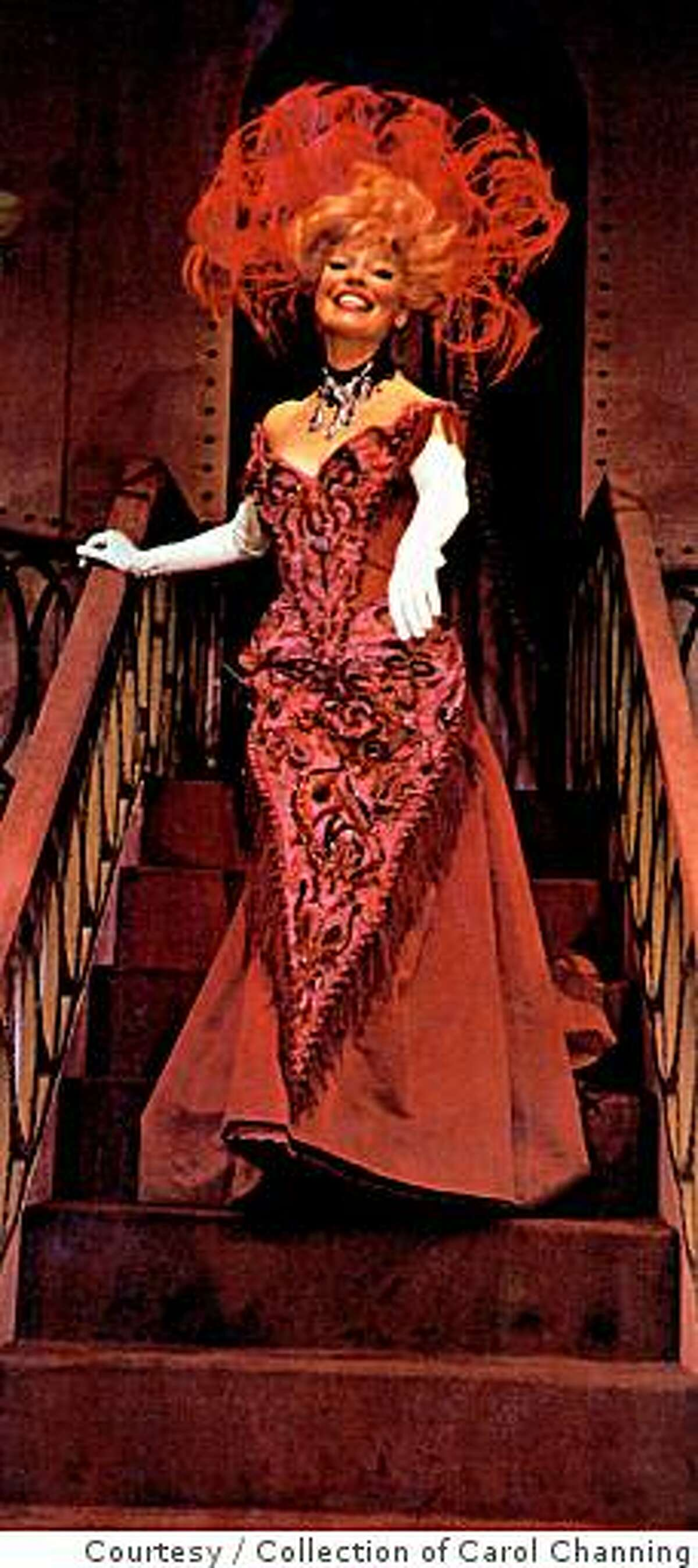 """Carol Channing, seen here in a still from 1964 film """"Hello, Dolly!"""""""