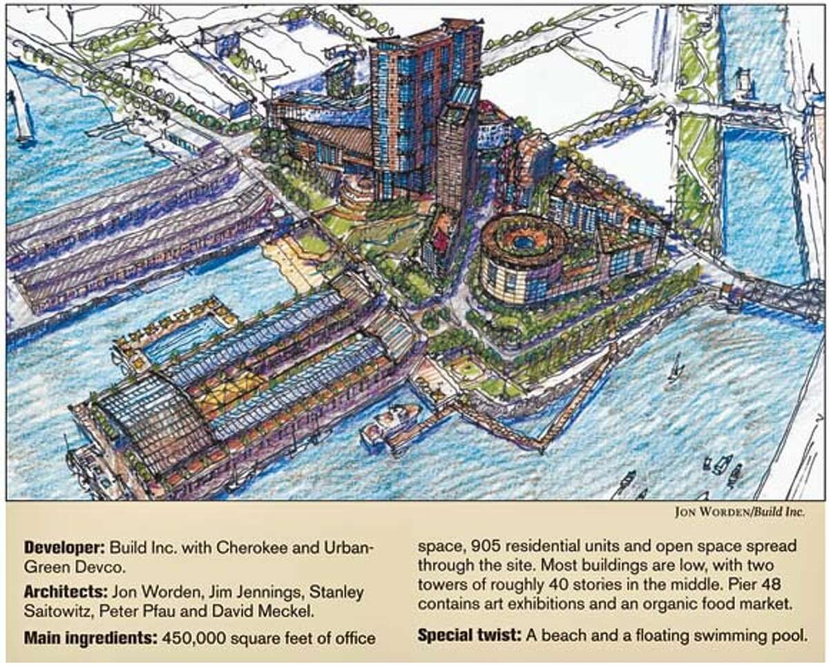 Build Inc.'s plan for the China Basin site.