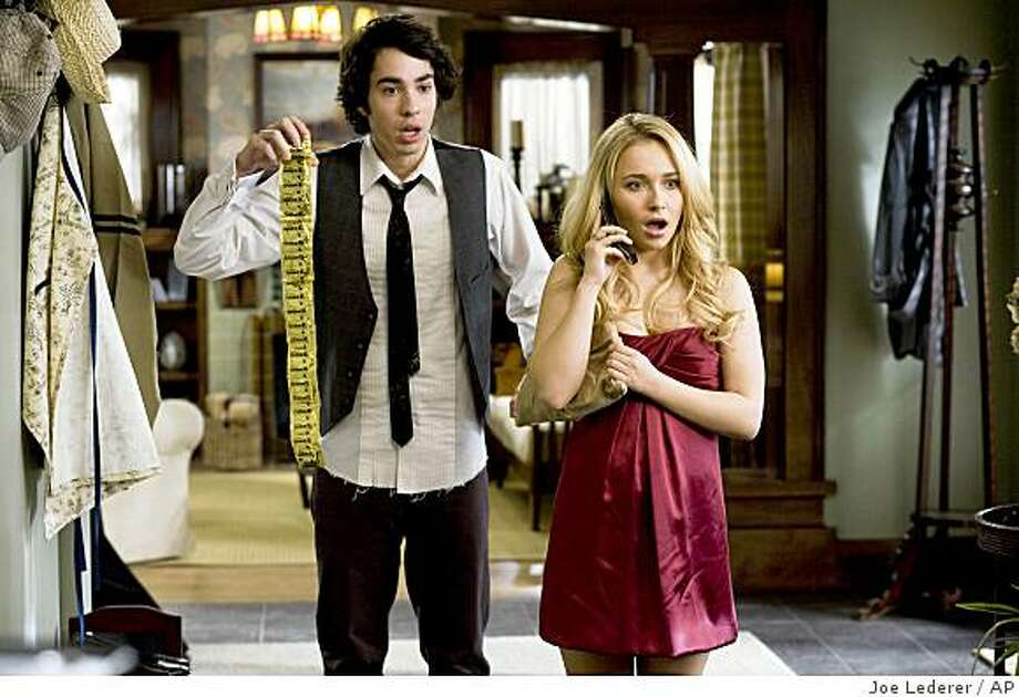 "In this film publicity image released by 20th Century Fox,Jack T. Carpenter, left, and Hayden Panettiere are shown in a scene from, ""I Love You, Beth Cooper."" Photo: Joe Lederer, AP"