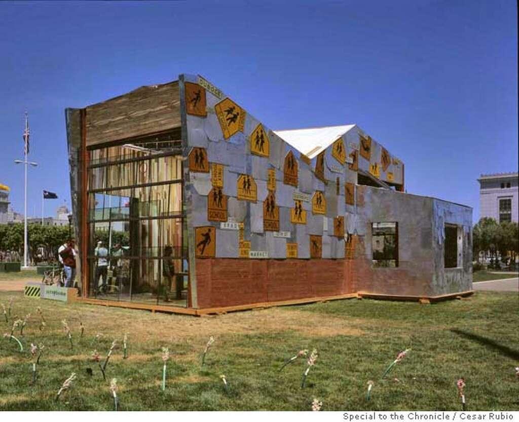 architect john peterson building goodwill sfgate