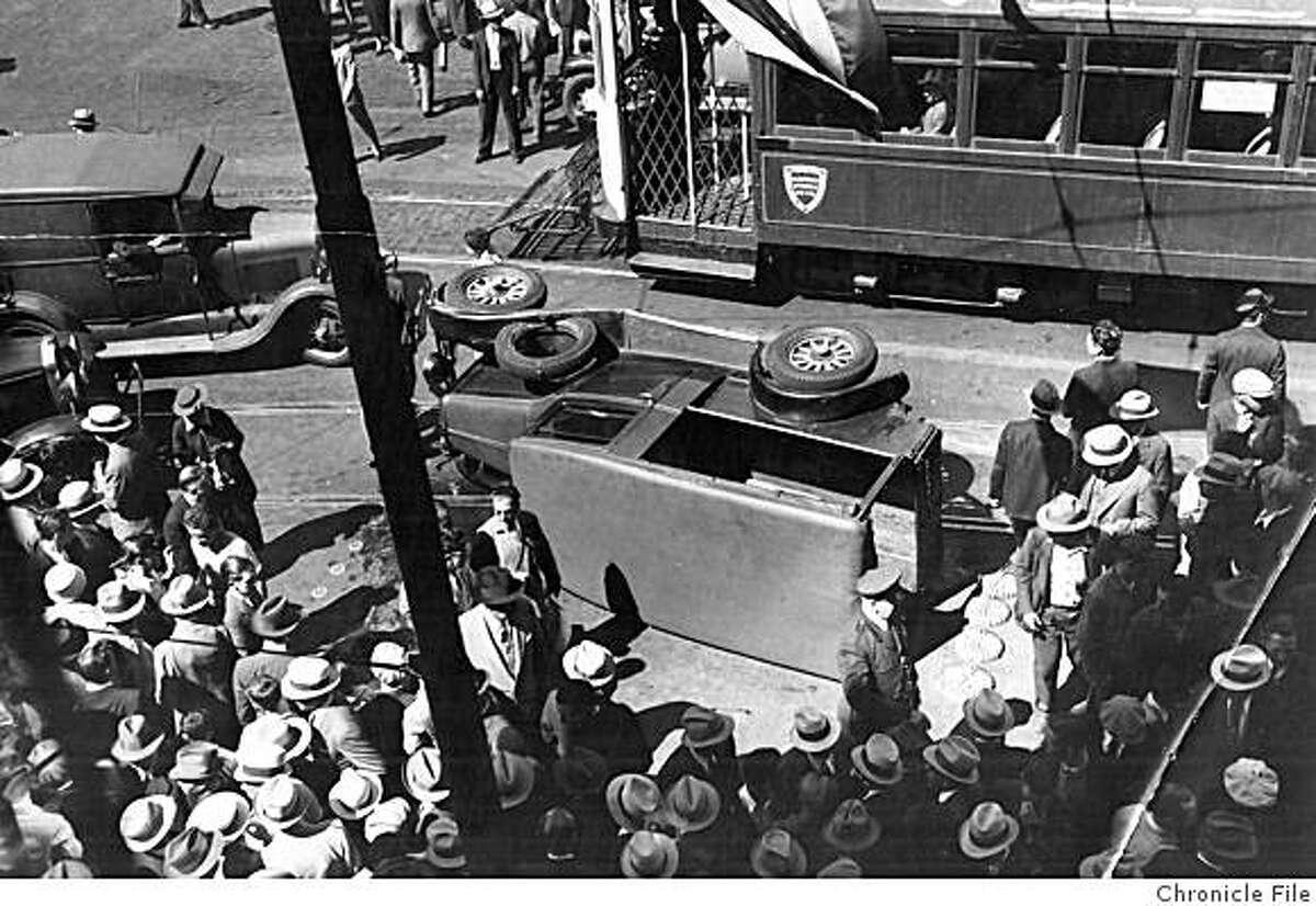Strike on Market street 13 July 1934.