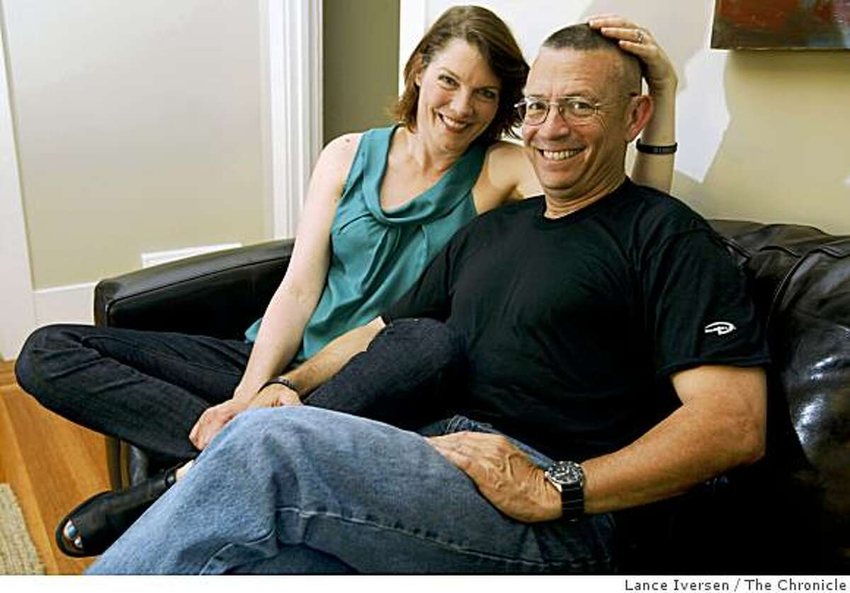 """1996 Berkeley peace activist and Stanford graduate Sophia Raday, now 44, consented to a blind date with a guy who seemed like a terrible fit. """"A lark,"""" she says, explaining why she met with Blair Alexander, now 50, an Oakland cop, SWAT assistant tactical commander and firearms officer. Saturday June 27, 2009."""