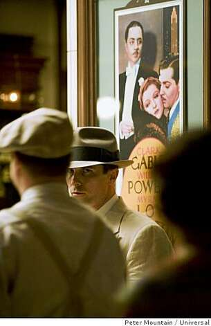 "Christian Bale in ""Public Enemies."" Photo: Peter Mountain, Universal"