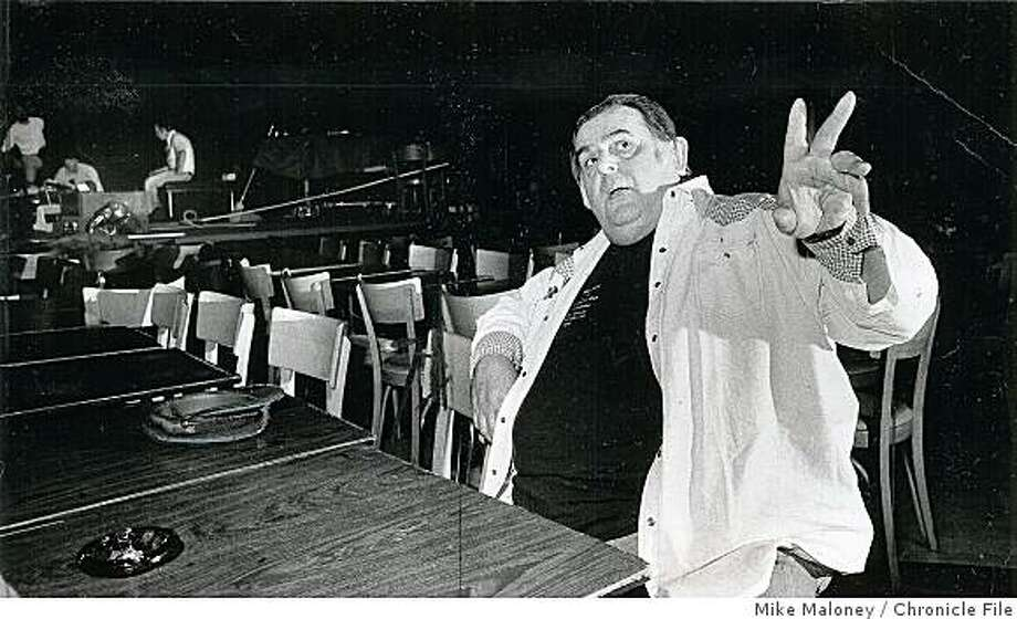 1980 - David Allen, owner of the Boarding House nightclub on Columbus St., died in 1984. Photo: Mike Maloney, Chronicle File